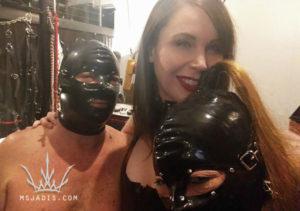 mistress jadis with happy couple