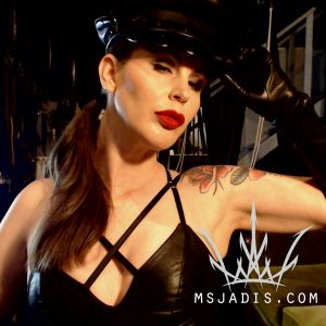 Mistress Jadis Leather Cap Gloves