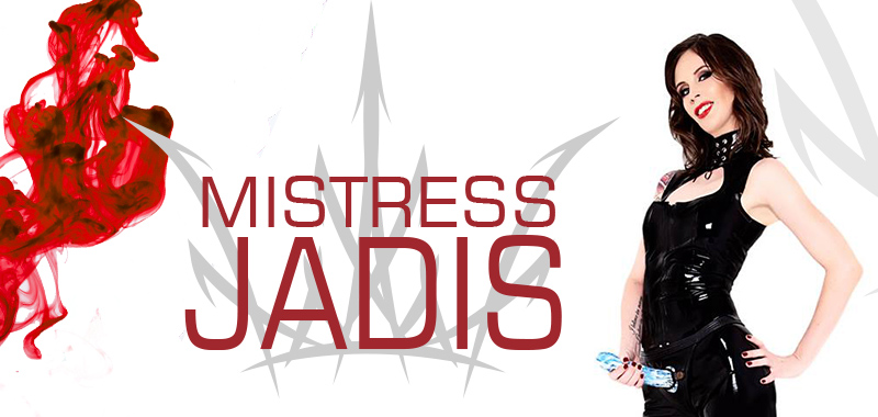 Mistress Jadis Strapon Black Latex